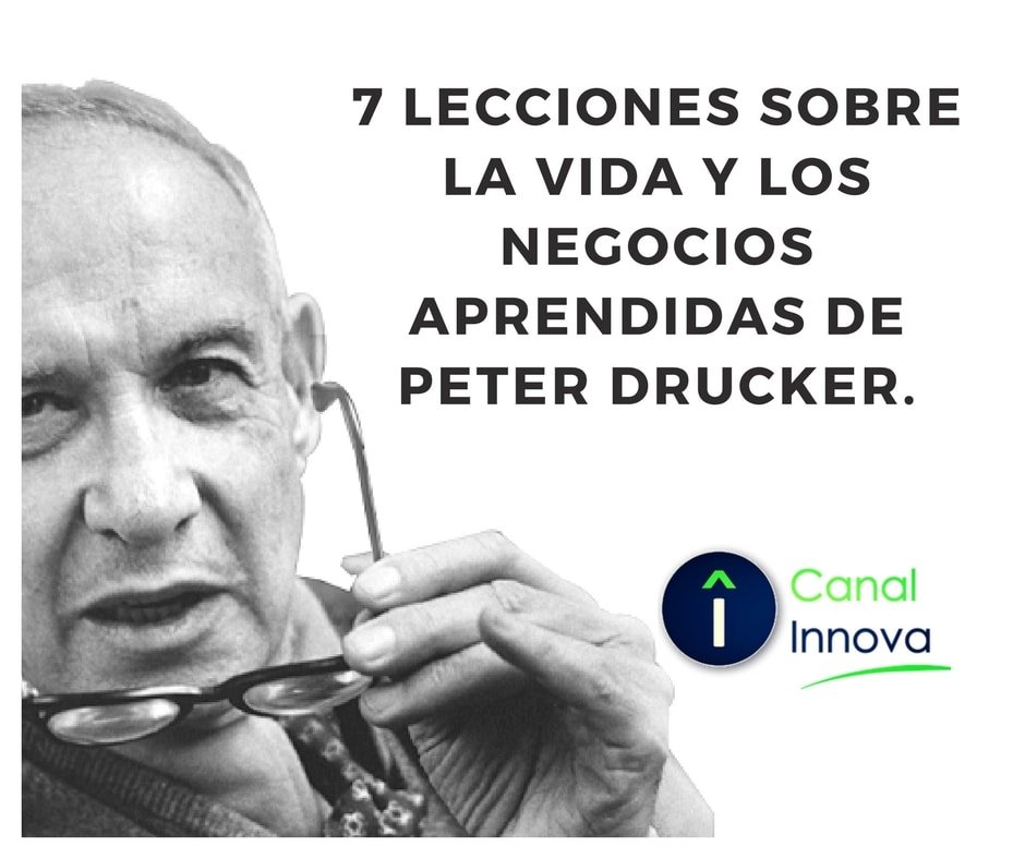 Peter drucker lecciones
