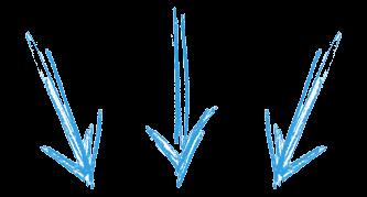 flechas azules blog