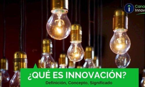 ¿Qué es Innovación?