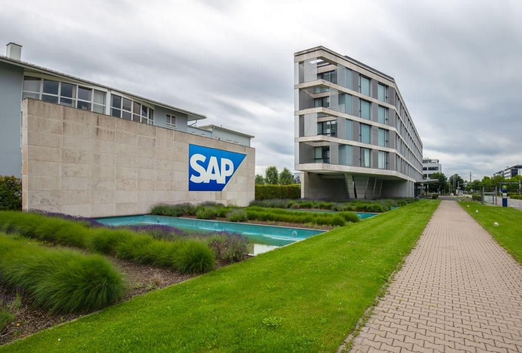 Instalaciones de la empres SAP en Walldorf, Alemania.